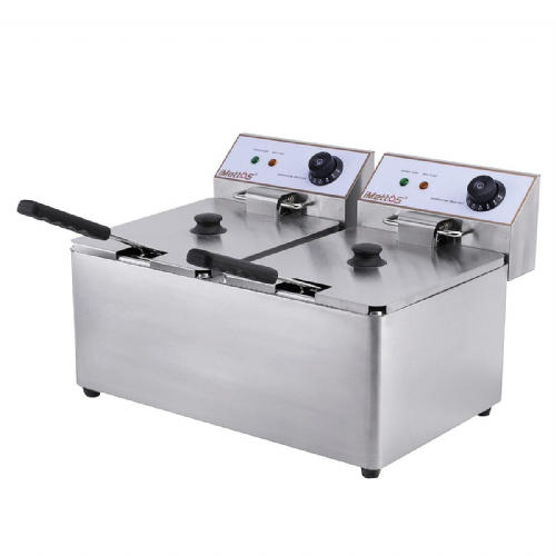 Deep Fat Fryer 2 x 8 Ltr Twin Tank - DF-8L-2